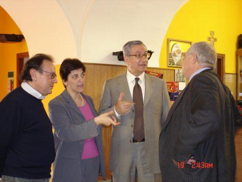 ll presidente della Commissione lavoro del senato Pasquale Giuliano  incontra una nostra  delegazione