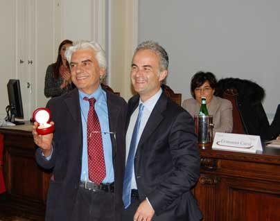 Premio Compasso al presidente del CESAF