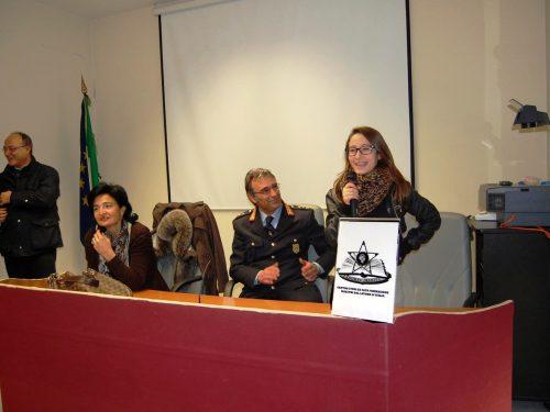 Gli studenti della Ruggiero in visita alla Polizia municipale