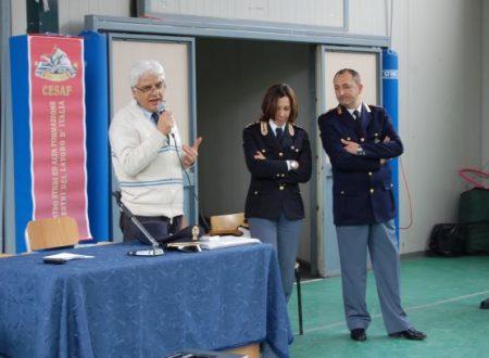 Polizia Stradale all'Istituto comprensivo Ruggiero