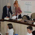 Il prefetto di Crotone alla cerimonia della firma della convenzione con la scuola Giovanni XXIII