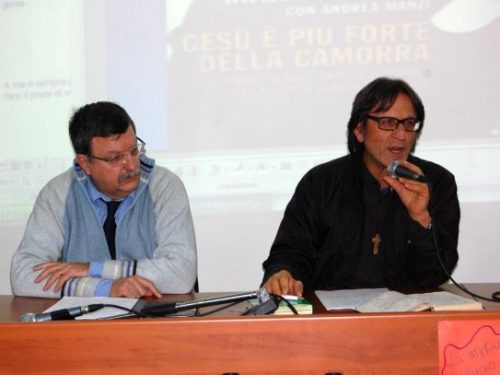 Legalità: don Antonio Manganiello all'ISISS terra di Lavoro