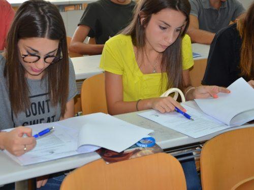 Summer School 2015 –  test di ingresso con soluzione