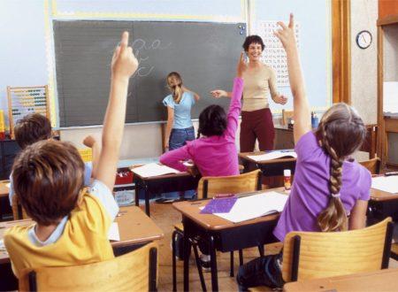 Lezione di logica matematica con gli alunni delle elementari