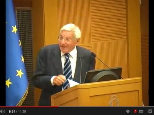 Giorgio La Malfa spiega perché l'Europa critica il Dpef del governo Renzi.