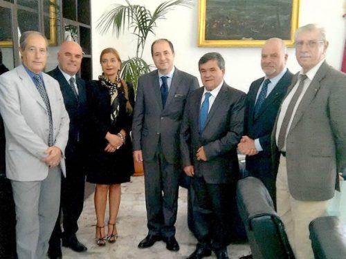 Una nostra delegazione incontra il questore di Caserta