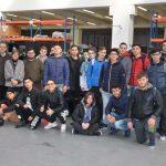 Studenti del Ferraris con l'eccellenza dei gruppi elettrogeni