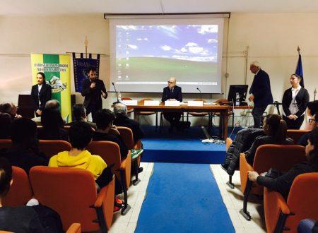 Il questore Antonio Borrelli e Giandomenico Lepore al Liceo Manzoni