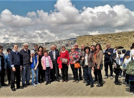 Una nostra delegazione  alla visita guidata di Castel dell'Ovo