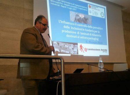STEPFAR: un progetto formativo post universitario per l'alluminio  in collaborazione con la Federico II di Napoli