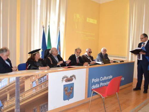 Laurea Honoris Causa al mdl Ciro Sinagra