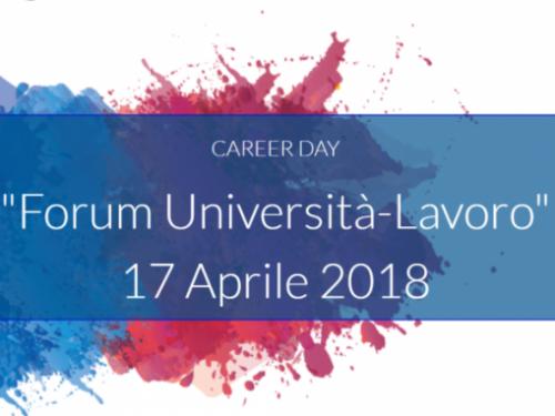 Forum Università lavoro a Roma con l'associazione Laureati in ingegneria