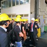 Gli studenti del ITI Ferraris alla Laminazione sottile guidati dal mdl Ciro Sinagra