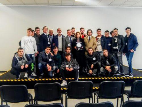 Gli studenti dell'ITI Buccini-Ferraris alla STMicroelettronics