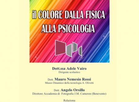 """Video Conferenza su """"Il colore dalla fisica alla Psicologia"""" al liceo Manzoni di Caserta"""