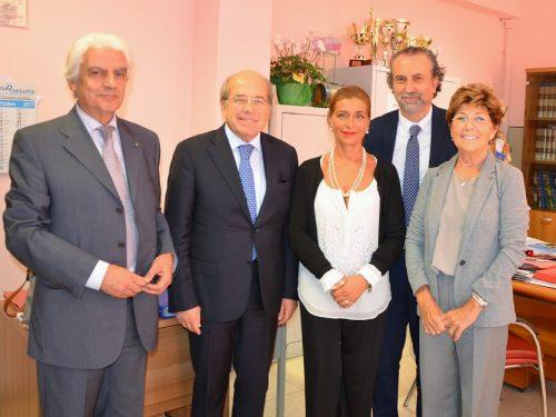 Adele Vairo dirigente scolastico e componente il consiglio direttivo del CESAF assessore al Comune di Caserta