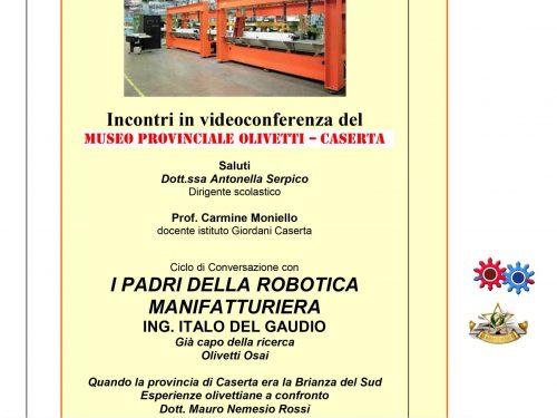 I padri della robotica manifatturiera in webinar su FB
